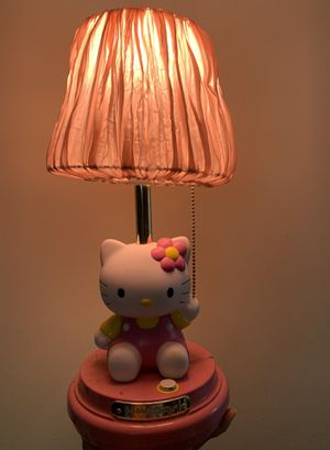 Hello Kitty Lamp for Sale in Woodbridge Township, NJ