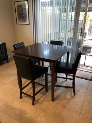 Pub table and chairs for Sale in Tracy, CA
