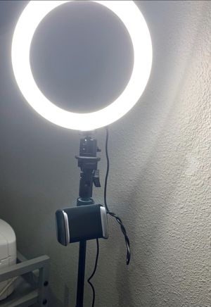 """Brand New 8"""" Selfie Ring Light with Tripod Stand & Cell Phone Holder Mini Led Camera Ringlight for Photography and Video for Sale in Indianapolis, IN"""