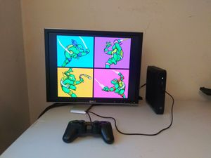 Retro Gaming Arcade System - Over 10,000 games N64, Dreamcast, PS1, Sega Saturn for Sale in Oaklandon, IN