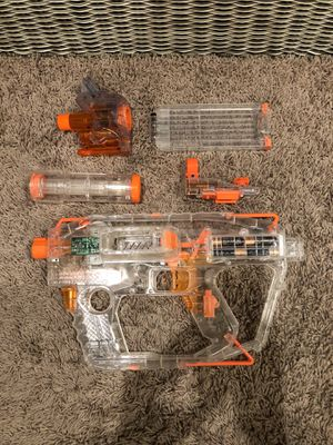 *never used* Clear nerf gun $60 value for Sale in Henderson, NV