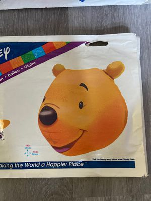 Winnie the Pooh Foil balloons 16 inc for Sale in Miami, FL