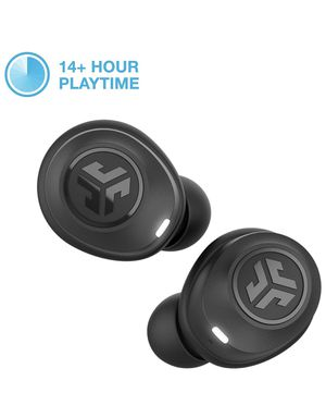 JLab Audio JBuds Air True Wireless Signature Bluetooth Earbuds + Charging Case - Black - IP55 Sweat Resistance - Bluetooth 5.0 Connection - 3 EQ Soun for Sale in Union Park, FL