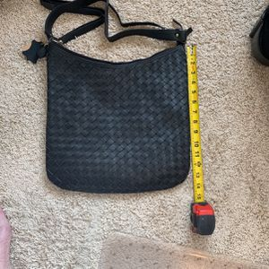 Get On 100% Black LEATHER Hobo Bag With 2 Straps for Sale in Portland, OR