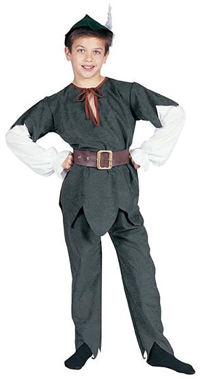 Child Robin hood deluxe costume size small renaissance Halloween theater for Sale in Artesia, CA