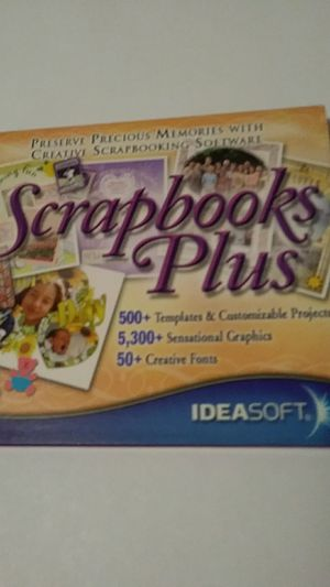 Ideasoft Scrapbooks Plus for Sale in Fort Worth, TX