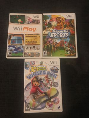Wii sports games for Sale in Delray Beach, FL