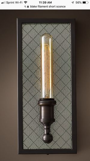 Restoration Hardware Sconce Light in Bronze New for Sale in Los Angeles, CA
