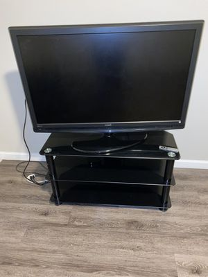 50 inch TV with Stand & Apple TV for Sale in Alafaya, FL