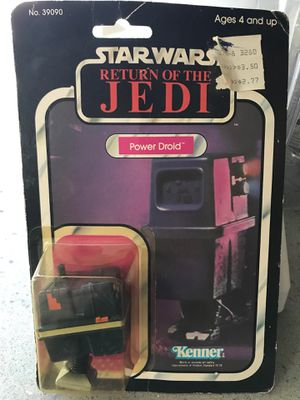 Star Wars power droid collectible - vintage toy from 1970's/1980's for Sale in Tacoma, WA