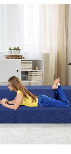 "8"" 3-in1 Gel memory Foam Mattress & Sofa Bed for Sale in Boring,  OR"