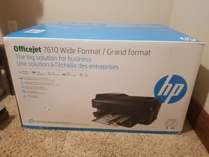 Officejet HP 7610 Wide format Printer for Sale in Colorado Springs, CO
