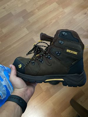Brand new men's work boot waterproof Wolverine steel toe for Sale in Torrance, CA