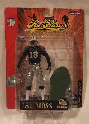 Re-Plays Randy Moss NFL 2005 Raiders Series 1 McFarlane Figure for Sale in San Jose, CA