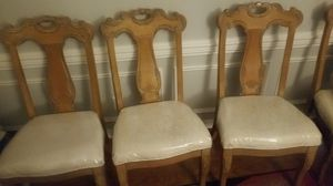 Four dining chairs for Sale in Charlotte, NC