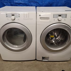 Kenmore Washer And Electric Dryer Set Good Working Condition Set For $349 for Sale in Lakewood, CO