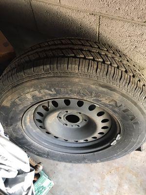 One 265/70/R18 tire w/6 lug rim for Sale in San Carlos, AZ