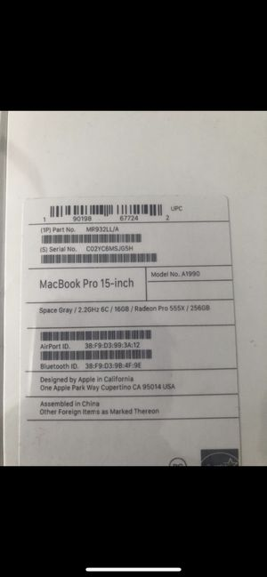 MacBook Pro brand new sealed for Sale in Queens, NY