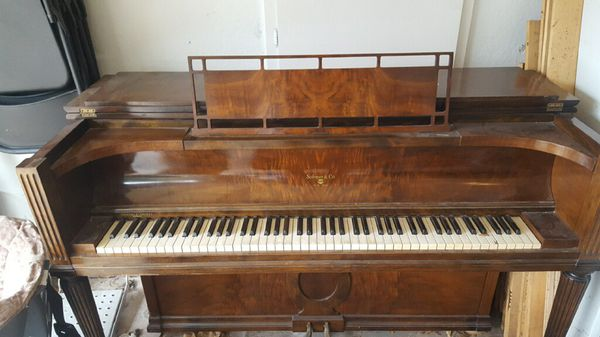 Sohmer and Co upright piano