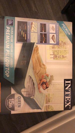 Intex queen air mattress for Sale in Lansing, MI