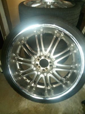 Rims and tires for Sale in Perris, CA