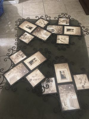 Metal photo frame collage for Sale in Tempe, AZ