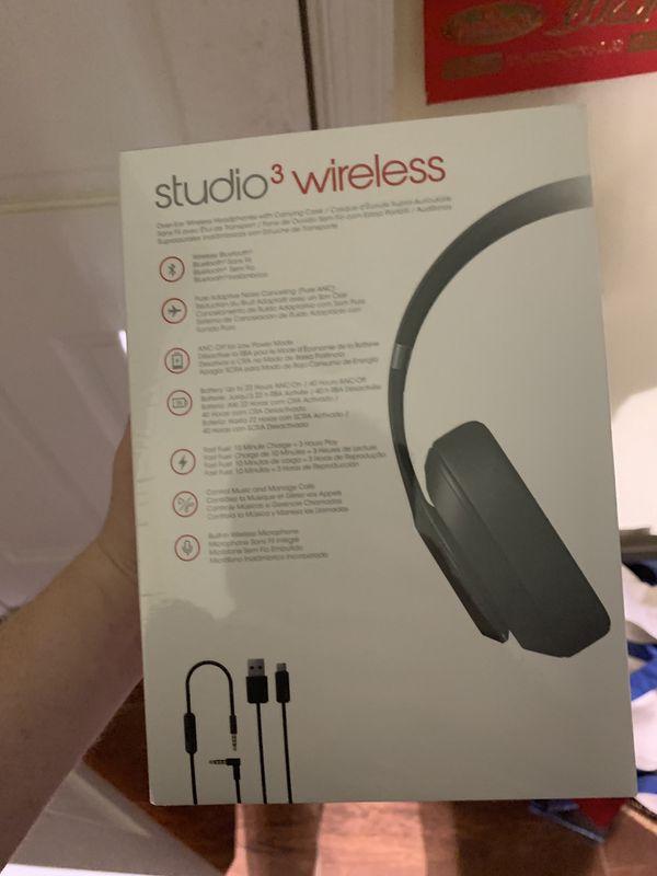 Beats Studio 3 Wireless Headphones (BRAND NEW/SEALED)