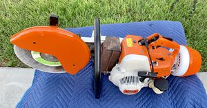 Stihl TS 350 Super Concrete Saw - Runs - NEW Air Cleaner Assembly - Sometimes It Will Stall for Sale in Lakeland, FL
