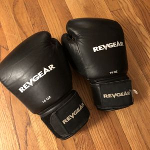 RevGear 14oz Leather Boxing Gloves - Excellent Condition for Sale in Los Angeles, CA