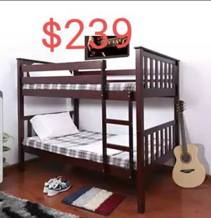 twin on twin bunk bed for Sale in Ontario, CA