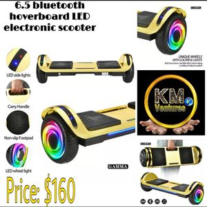 KM Bluetooth hoverboard LED electronic scooter for Sale in Orlando, FL