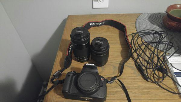 Canon T5i w/ 2 stm lenses