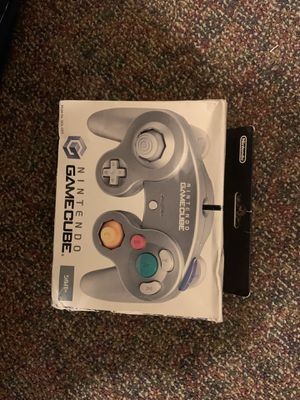 NIB silver GameCube controller for Sale in Hampton, VA