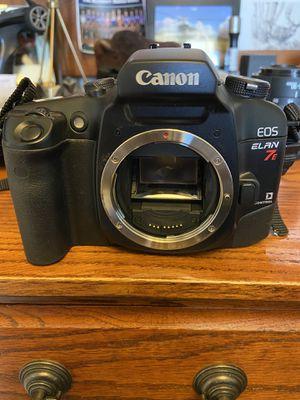 Canon EOS Elan 7E film SLR camera for Sale in Brighton, CO