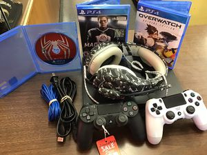 PS4 1TB WITH EXTRAS!!! Firm on price! for Sale in Fresno, CA