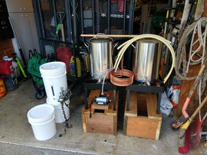 Homebrew beer brewing all grain system for Sale in Tacoma, WA