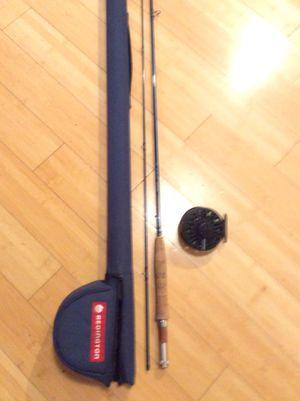 Redington fly Fishing rod, reel, case for Sale in Virginia Beach, VA