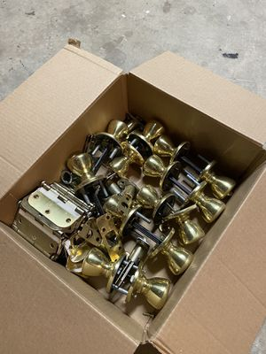 Door hinges and knobs for Sale in Stockton, CA