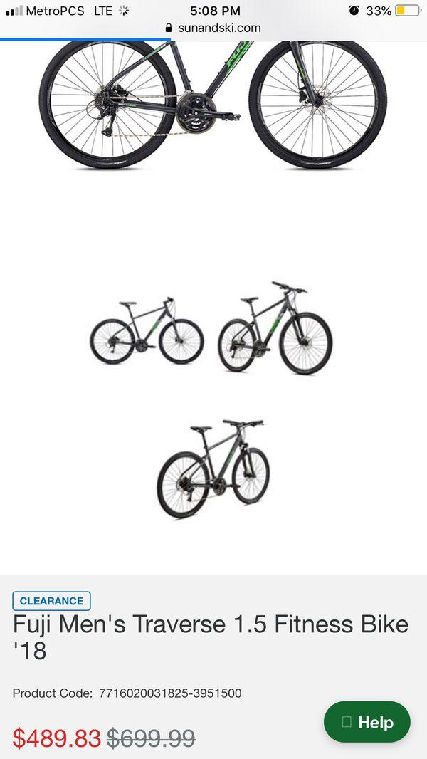 Fuji pro bike