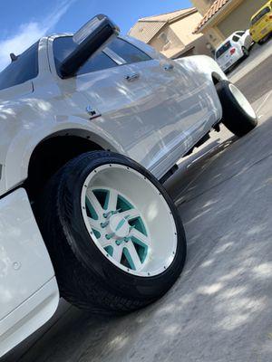 !!!!!!!!8x6.5 22 inch rims!!!!!!! for Sale in Tucson, AZ