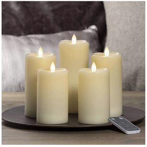 Sterno Home 5 Piece LED Moving Flame Candles for Sale in Bartlett, IL