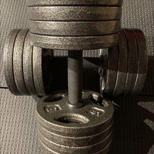 40LB Adjustable Dumbbell Total 80LB Pair BRAND NEW for Sale in Irvine, CA