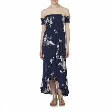 Women's Bongo Floral Wrap-Effect Maxi Dress-NEW for Sale in Santa Ana, CA