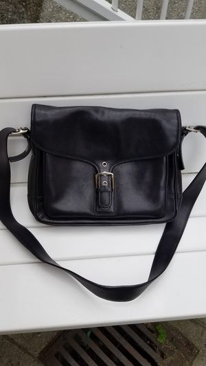 Coach purse / messenger bag, real genuine leather,new for Sale in Everett, WA