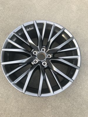 "One 20"" Lexus RX450h OEM factory dark grey wheel rim f sport RX350 RX450 spare for Sale in Mukilteo, WA"