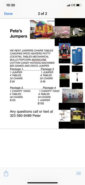 Jumpers for Sale in Downey, CA