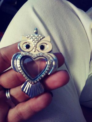 Owl charm locket for Sale in Tampa, FL