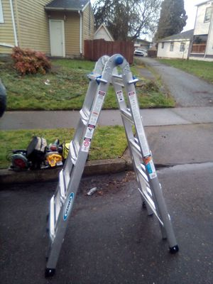 Werner 21ft colapsable ladder for Sale in Portland, OR