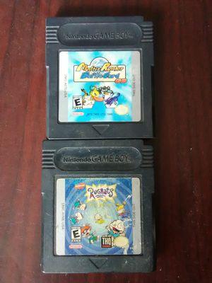 Gameboy games bundle $40 for Sale in Washington, DC