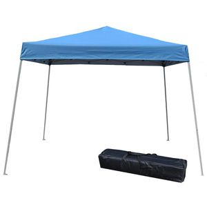 10 x 10 Pop Up Canopy Tent in Blue Outdoor Camping Use for Sale in Henderson, NV